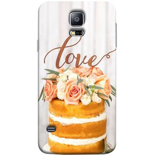 FUSON Designer Back Case Cover for Samsung Galaxy S5 Neo :: Samsung Galaxy S5 Neo G903F :: Samsung Galaxy S5 Neo G903W (Comes True Love You Forever Valentine Couples Lovers)
