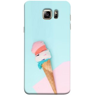 FUSON Designer Back Case Cover for Samsung Galaxy S6 G920I :: Samsung Galaxy S6 G9200 G9208 G9208/Ss G9209 G920A G920F G920Fd G920S G920T (Colourful Ice Cream Toy Baby Babies Chilling)