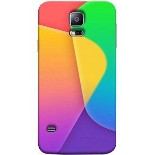 FUSON Designer Back Case Cover for Samsung Galaxy S5 Neo :: Samsung Galaxy S5 Neo G903F :: Samsung Galaxy S5 Neo G903W (Gliding Mobile Wallpaper Floral Patterns Shining Dark Patterns)