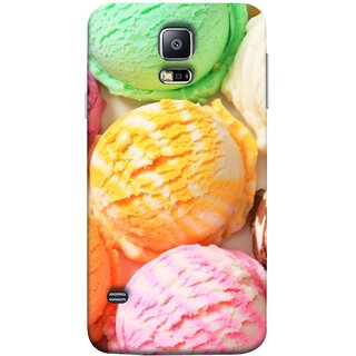 FUSON Designer Back Case Cover for Samsung Galaxy S5 Neo :: Samsung Galaxy S5 Neo G903F :: Samsung Galaxy S5 Neo G903W (Colourful Ice Cream Berry Cherry Pista Flavours )