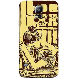 FUSON Designer Back Case Cover for Samsung Galaxy S5 Neo :: Samsung Galaxy S5 Neo G903F :: Samsung Galaxy S5 Neo G903W (Photo Upset Hotel Club Hands Together Pub Thinking)