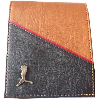 LANDER MEN'S STYLISH  LEATHER WALLET WITH CARD (MC1103)