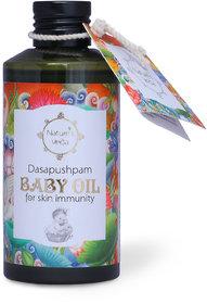 Nature's Veda Dasapushpam Baby Oil