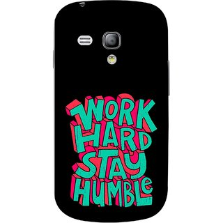 FUSON Designer Back Case Cover for Samsung Galaxy S3 Mini I8190 :: Samsung I8190 Galaxy S Iii Mini :: Samsung I8190N Galaxy S Iii Mini  (Motivational Inspirational Words Quotes Worklife)