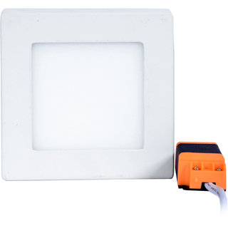 PKT 6 watt Surface Panel (Square Shape) Cool white with driver