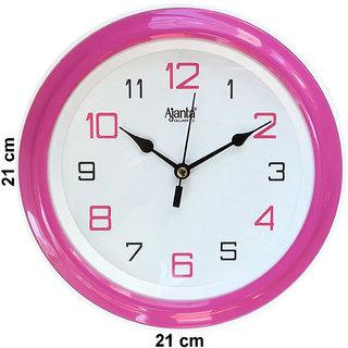 Ajanta Pink Wall Clock 2147P