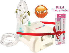 Thermoneb Portable Nebulizer With Complete Kit Child And Adult Mask