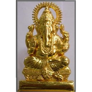 Golden Ganesh Murti