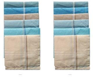 Unique Men's Colored Handkerchief (Pack Of 6)