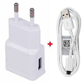 Mobile Charger Adapter with Data cable