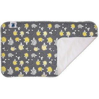 Planet Wise Waterproof Changing Diaper Pad, Hedgehog