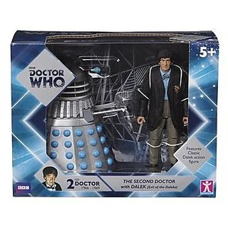 Doctor Who Twin Pack - Second Doctor and Dalek