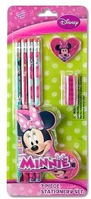 Minnie Mouse Bowtique 7 Piece School Supplies & Sta