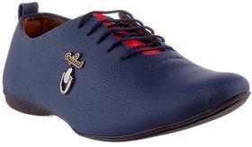 Footista Men's Blue Orginal Party Wear Shoes