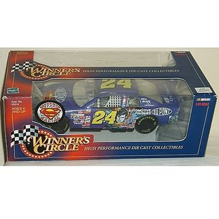 1999 Jeff Gordon #24 Dupont Automotive Finishes Superman 1/24 Scale Diecast Winners Circle