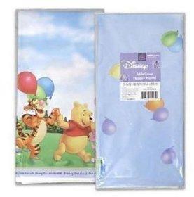 Poohs Fun Celebration Celebration Plastic Tablecover