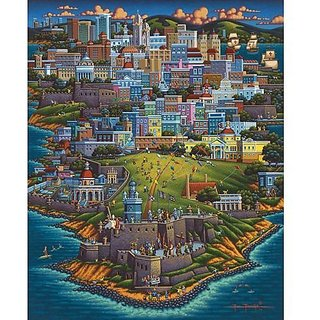 Jigsaw Puzzle - Puerto Rico 500 Pc By Dowdle Folk Art