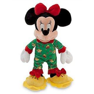 Disney Minnie Mouse Plush - Holiday Pajamas - 16