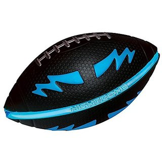 Toysmith Night Zone Football Assorted Colors