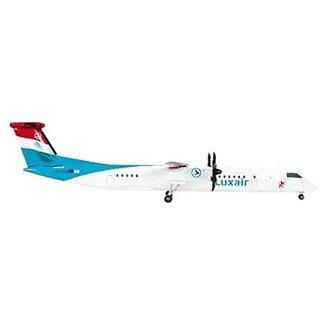 Daron Herpa Luxair Q400 Model Kit (1/200 Scale)