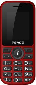 Peace P4 (Dual Sim, 1.8 Inch Display, 16 GB Expandable Storage, 850 Mah Battery)