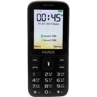 Peace T1 (Dual Sim, 2.4 Inch Display, Wireless FM, 1400
