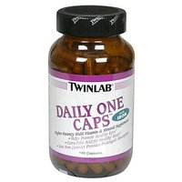 Twinlab Daily One Caps Multi-Vitamin And Mineral Supplement With Iron, 180 Caps