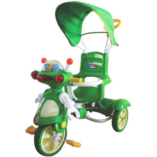 EZ' PLAYMATES ROBOT TRICYCLE GREEN