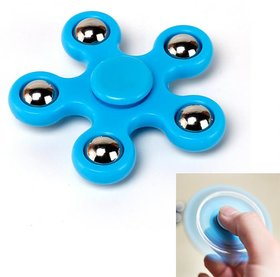 Pickadda Gyro Finger Spinner (5 Corners for Stress/Anxiety/Autism/Focusing)- Colour may vary