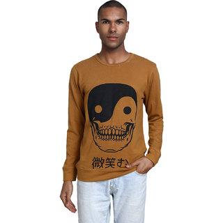 PAUSE Men's Mustard Hooded Sweatshirt