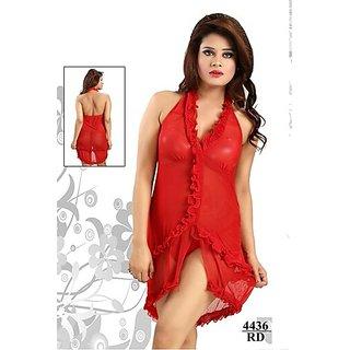 6fe06c81e7 Florona Sexy Women s Longerie Nightgown Night Sleepwear Babydoll Mini Dress