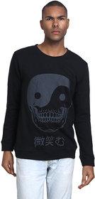 PAUSE Men's Black Hooded Sweatshirt