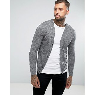 PAUSE Men's Grey Jacket for Men