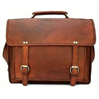 Satya Messenger Bag (brown) 9inchx11inch