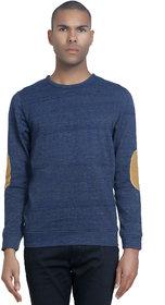 PAUSE Men's Blue Hooded Sweatshirt