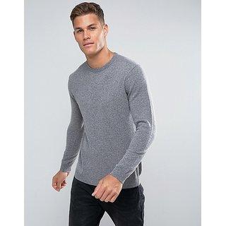 PAUSE Men's Grey Hooded Sweatshirt