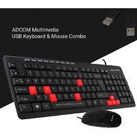 Adcom Combo K401M USB Keyboard  USB Mouse