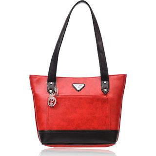 Belizza Women's Floss Red Handbag
