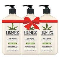 Hempz Age Defying Herbal Body Moisturizer 17 Fl Oz (3 Pack)