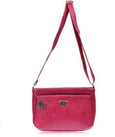 Belizza Women's Magnolia Pink Sling Bag