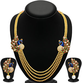 Sukkhi Gold Plated Alloy Necklace Set For Women2191