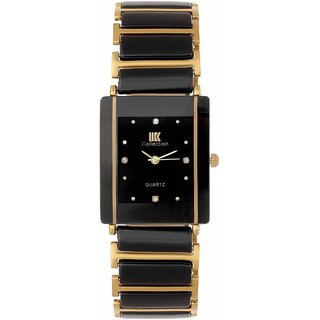 5e826ce90a5c Buy IIK HRV Collection Gold Black Square Best Designing Stylist  Professional Analog Watch For Men