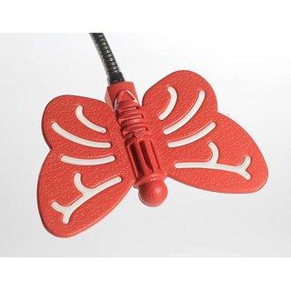 Renata LED Desk Light - Flyte -Touch Dimer - Cool White Light- Red
