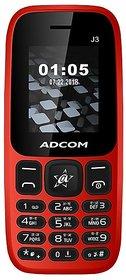 Adcom J3 (1.8 Inch, Dual Sim, FM Radio,1050 mAH Battery, Made in India)