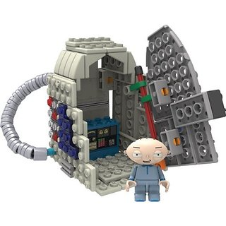 Knex Family Guy-Stewie and Time Machine Building Set