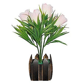 Sky Trends Artificial Flower Pot For Home Decoration Style Cod010