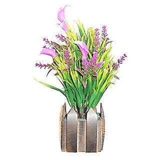 Sky Trends Artificial Flower Pot For Home Decoration Style Cod013