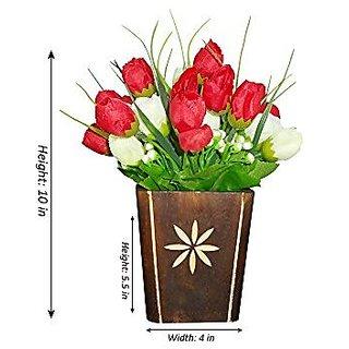 Sky Trends Artificial Flower Pot For Home Decoration Style Cod016