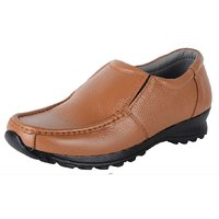Austrich Mens Brown Formal Leather K2 Shoes