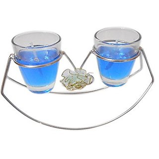 Sky Trends Home Decor Diwali Tea Light Candles With Stand St-02